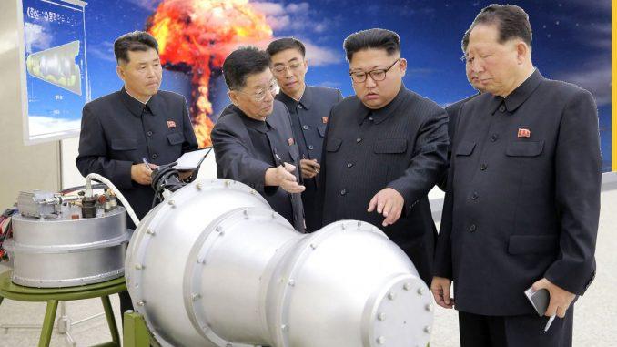 Test nucleari che distruggono la natura