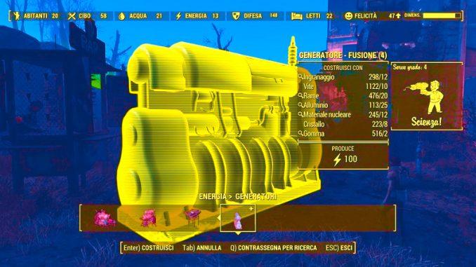 Reattore nucleare portatile per le basi marziane e lunari