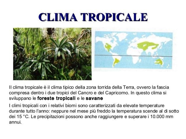 L'Italia sempre più verso un clima tropicale