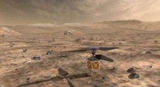 Mars Helicopter è un piccolo elicottero della Nasa che viaggerà con il rover Mars 2020, attualmente in programma per il lancio a luglio 2020. L'obiettivo sarà dimostrare la viabilità aerea a bassa quota e il potenziale di veicoli più pesanti dell'aria sul Pianeta Rosso. Crediti: Nasa/Jpl-Caltech