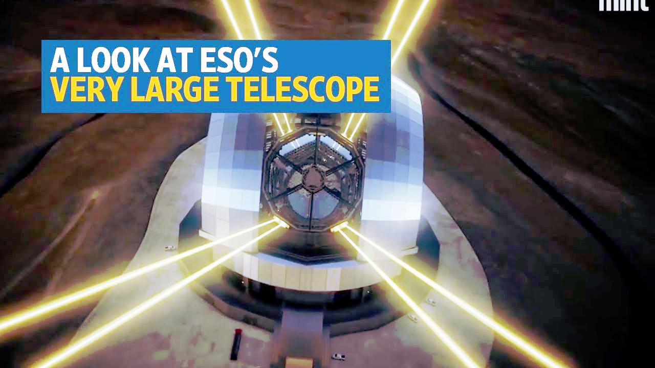 Al caccia di esopianeti con il Very Large Telescope