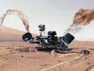 La sonda Curiosity, primo minatore marziano