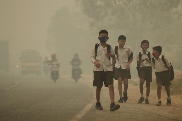 In alcuni Paesi i livelli di smog nelle grandi città sono fuori da ogni standard di sicurezza.|Antara Foto Agency/Reuters