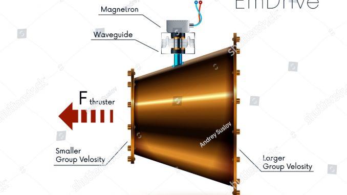 EmDrive, volare nello spazio con la spinta elettromagnetica