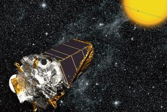 Riproduzione artistica della sonda Kepler. Crediti: Nasa
