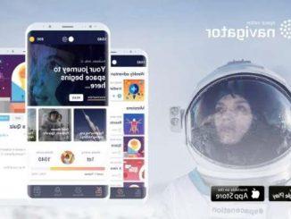 Viaggia nello spazio con una app sullo smartphone