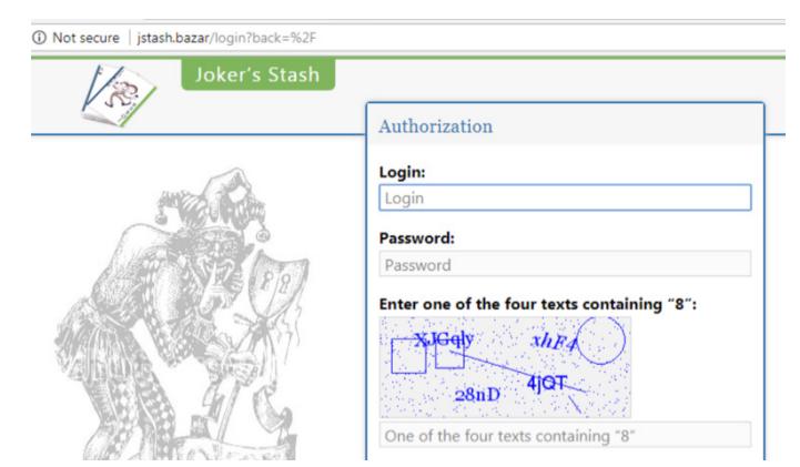 Joker's Stash sfrutta un blockchain DNS ed è diventato un punto di riferimento per la compravendita di credenziali di carte di credito rubate