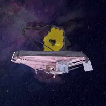 Rappresentazione artistica del James Webb Space Telescope. Crediti: Nasa