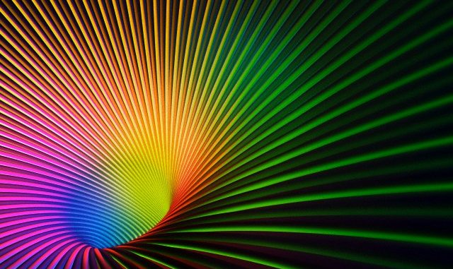 Arcobaleni gravitazionali non singolari dell'Universo