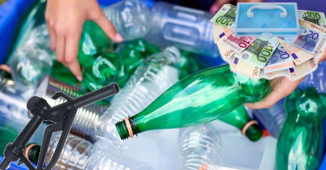 Inizia la produzione di carburante dai rifiuti di plastica
