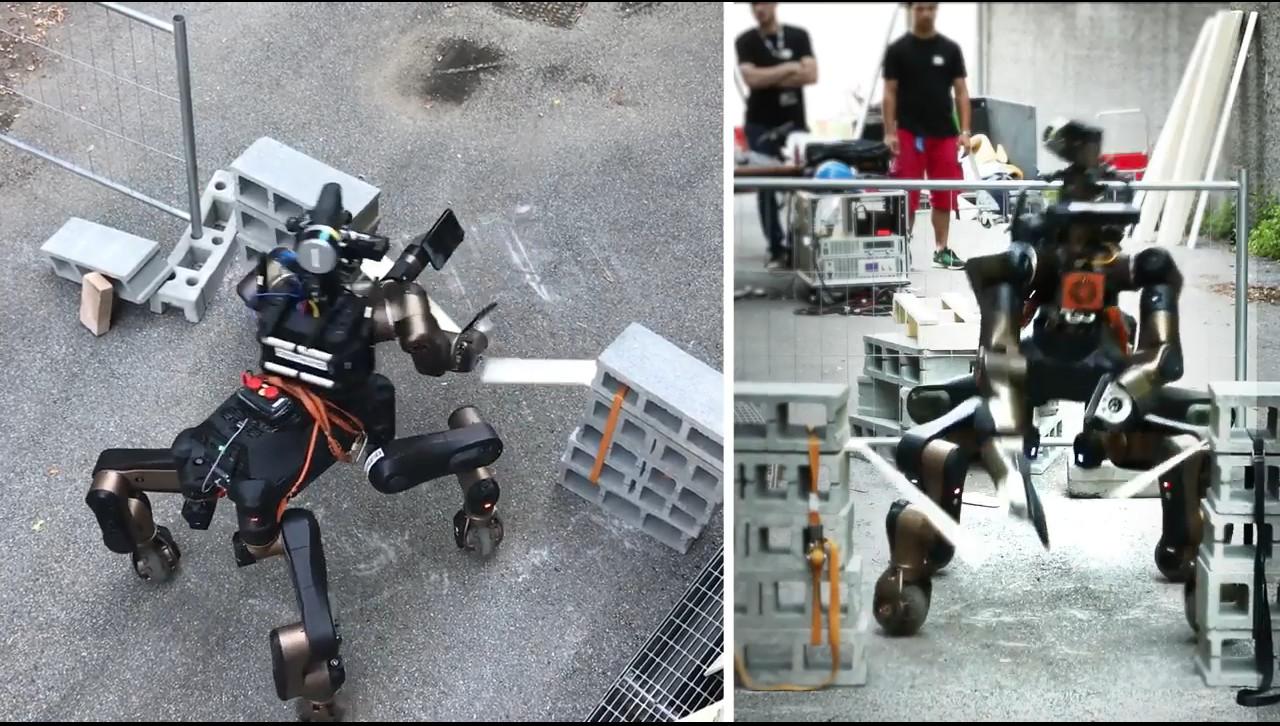 Il Robot karateka dell'Istituto Italiano di Tecnologia