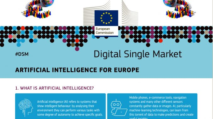 L'europa scommette sull'Intelligenza Artificiale