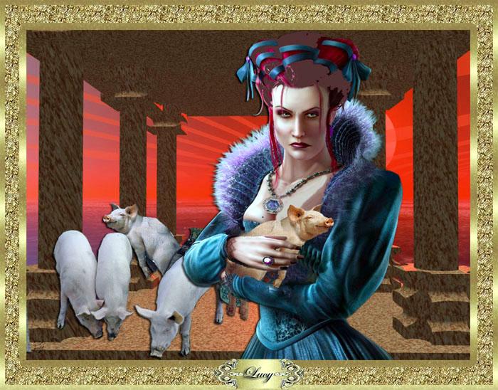 La Maga Circe, seduttrice ed ammaliatrice sugli uomini