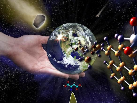 La vita sulla Terra è stata portata dalle meteoriti