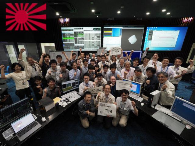Il falco pellegrino giapponese cattura l'asteroide Ryugu