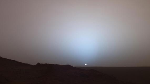 Uno spettacolare tramonto fotografato da Opportunity | NASA