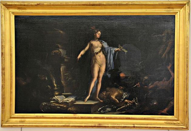 Maga Circe dipinta da Giacomo del Po