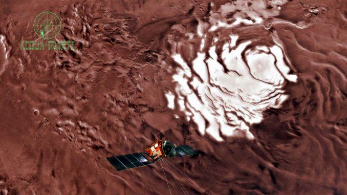 Scoperta l'Acqua su Marte da parte di un team di scienziati italiano