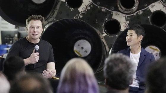 Elon Musk e Yusaku Maezawa