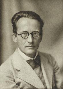Erwin Schrödinger (1887-1961) in un'immagine del 1933, anno in cui ricevette il premio Nobel per la fisica (Wikimedia Commons)