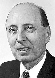 Eugene Paul Wigner (1902-1995), fisico ungherese naturalizzato statunitense, premio Nobel per la fisica nel 1963 (Wikimedia Commons)