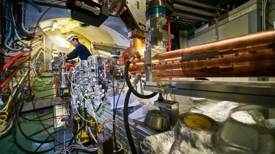 L'esperimento Awake (Credit Maximilien Brice/Julien Ordan/CERN)