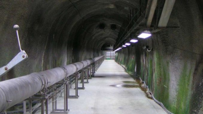 Captazioni dell'acquedotto del Ruzzo attigue al traforo dell'autostrada A24.
