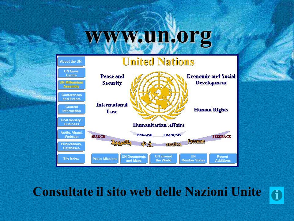 Visibili online i dati sensibili delle Nazioni Unite
