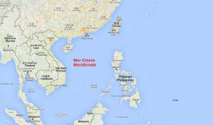 Il Mare Cinese Meridionale.