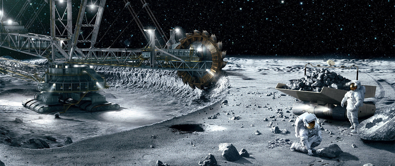 Gli USA a caccia di risorse minerarie nello spazio