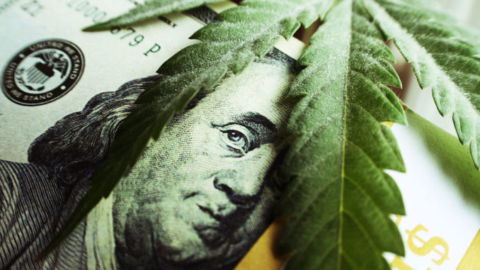 La marijuana vola leggera alto in borsa