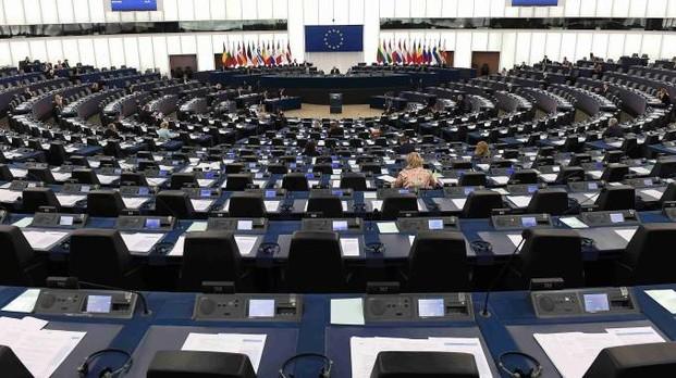 Il Parlamento europeo a Strasburgo (LaPresse)