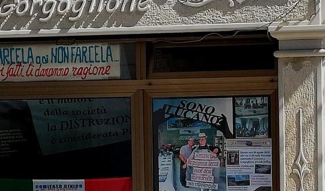 Gorgoglione (Matera). La sede del Comitato Civico in via Roma
