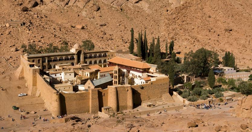 Monastero di Santa Caterina , Monte Sinai (Agf)