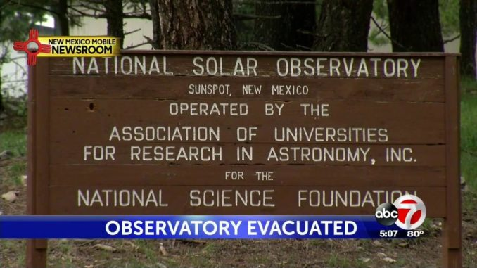 L'FBI evacua, a causa avvistamento UFO, l'osservatorio Sunspot