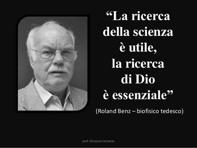 La scienza non può spiegare l'esistenza di Dio