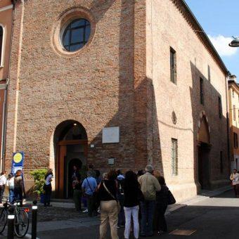 Gli appuntamenti di Scienceground, dal 5 al 9 settembre 2018, si terranno nei locali della chiesa sconsacrata di Santa Maria della Vittoria, a Mantova. Crediti: Festivaletteratura