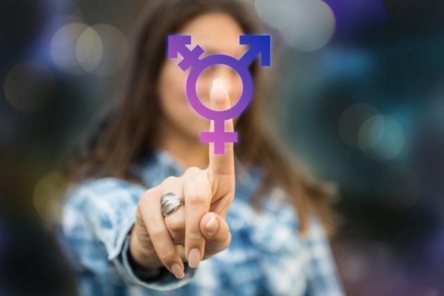 Il simbolo transgender.