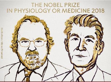 Il Nobel per la Medicina ai ricercatori sul cancro