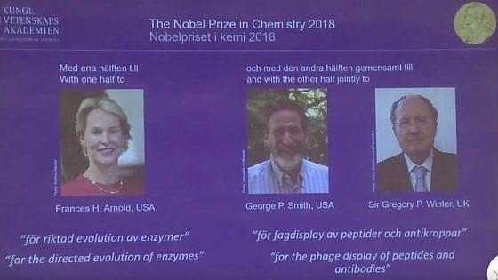 Premio Nobel 2018 per la chimica