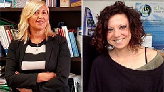 Rita Cucchiara e Laura Margheri
