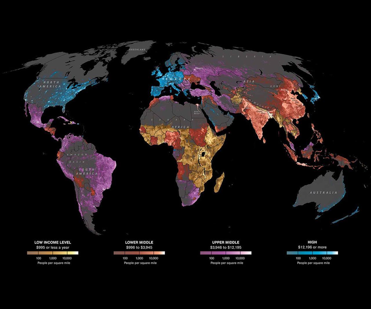 Perdita di interesse nel Mondo per il modello internet