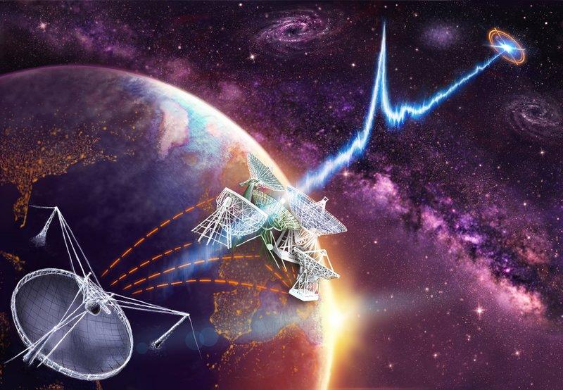 Rilevati misteriosi e intensi segnali radio alieni da altre galassie