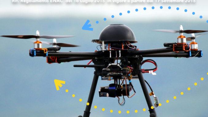 Volete guidare un Drone? Serve il patentino.
