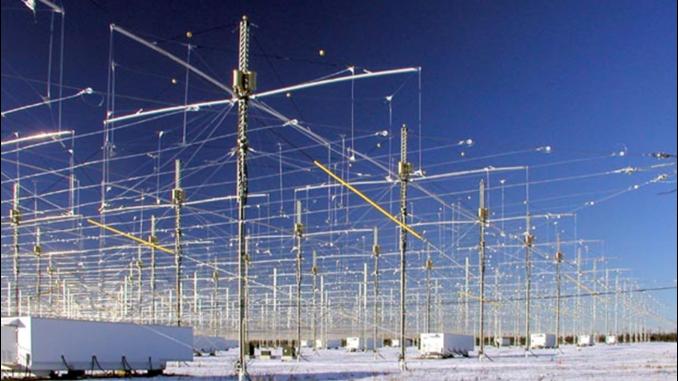 Le antenne del progetto HAARP
