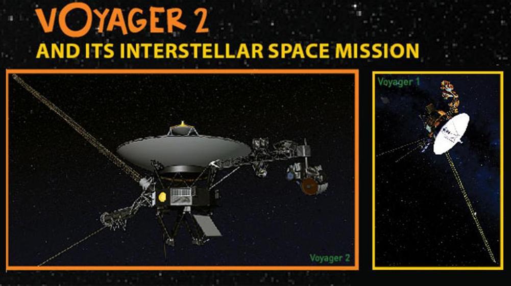 Anche la Voyager 2 raggiunge lo spazio profondo
