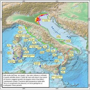 Riscaldamento globale e livello dei mari: quale futuro per l'Italia?