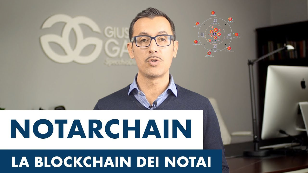 Dalla blockchain la notarchain per la validazione di contratti