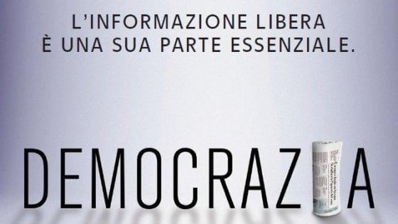 L'informazione libera è una parte essenziale della Democrazia