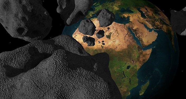 Il grande asteroide nero di Halloween sfiorerà la Terra oggi